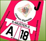 Toll stickers (Vignettes) in Austria