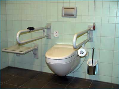 Toilet for disabled persons rastanlage inntal west - Toilet for handicapped person ...